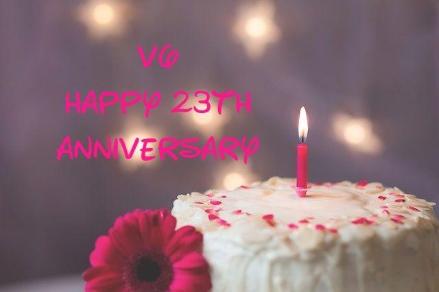 V6 23th Anniversary